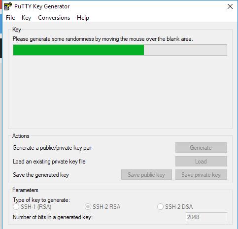 SSH-Key mit puTTYGen erstellen