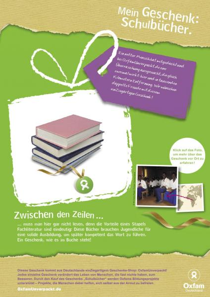 oxfam Spende 2011