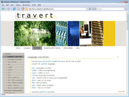 travert IT Modernisation GmbH